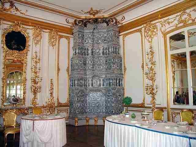 Top Ten Valuable Treasures that are still not found, Amber room, Amber room rudsia