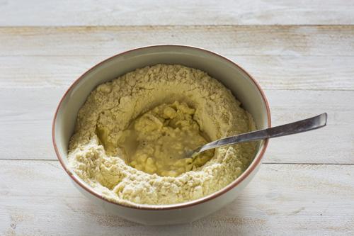 step 1 come fare la pasta fresca senza uova