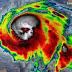 ( VIDEO ) Espeluznante calavera vista en imagen satélital del huracán michael.