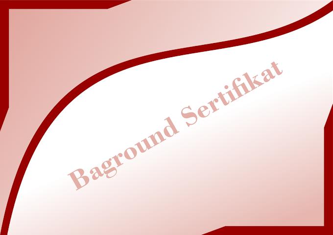 Desain Baground Sertificate Lanscape