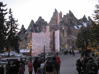 Winter Wonder Mountain At Canada's Wonderland