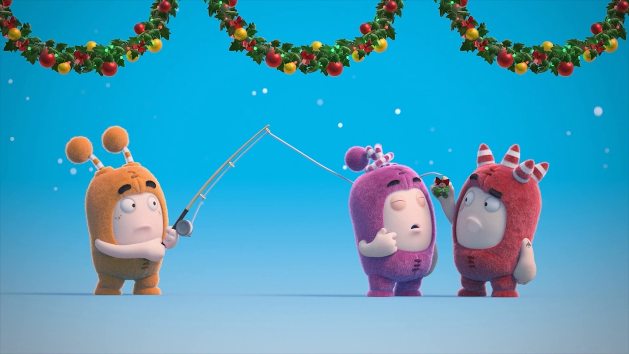 Oddbods Christmas - Jolly Holidays (2020) 720p WEB-DL