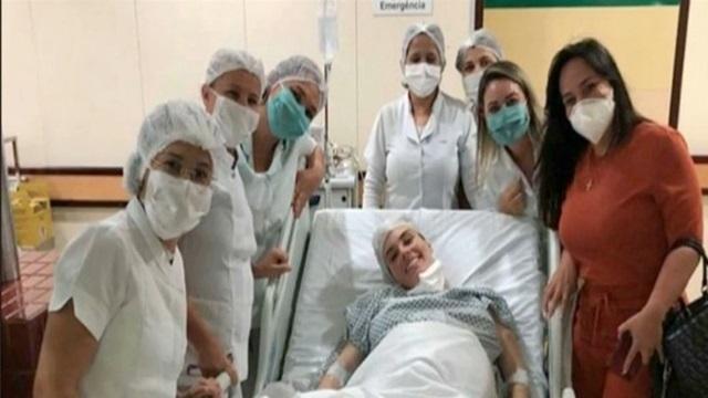 Enfermeira de Patos dá à luz a quadrigêmeos em João Pessoa