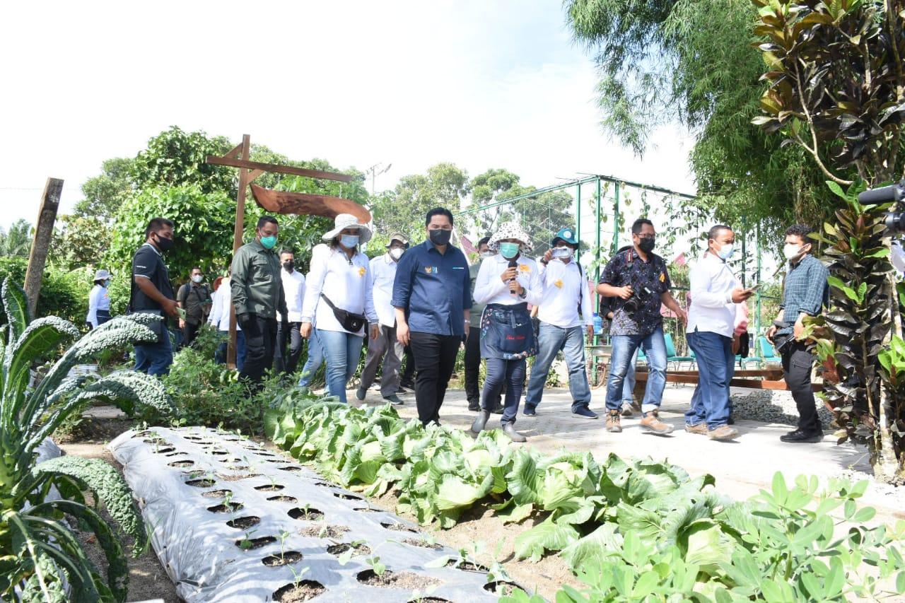 Terima Kunjungan Dua Menteri dan Wagub Sumut, Bupati Sergai Memohon Dukungan Infrastruktur dan Transfortasi