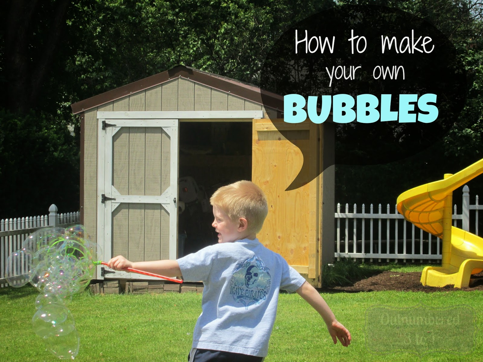 diy how to make your own bubbles outnumbered 3 to 1. Black Bedroom Furniture Sets. Home Design Ideas