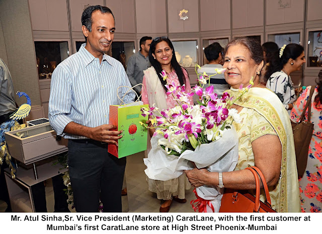 ​CaratLane jeweller has opened its 1st store in Mumbai at High Street Phoenix