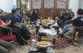 Bupati Takalar Temui Wakil Bupati Sinjai Serta Beberapa Mantan Wakil Bupati dan Ketua Partai di Sinjai