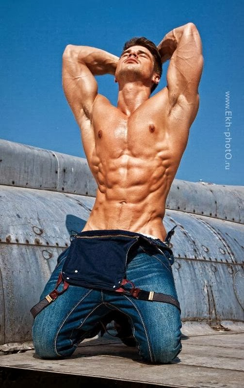Daily Bodybuilding Motivation Six Pack Abs Model Denis