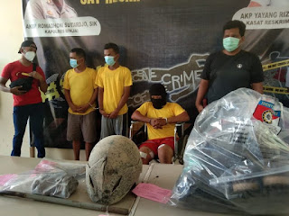 Pelaku Begal  yang Menewaskan Pasutri di Sei Mencirim Ditembak Polisi di Binjai