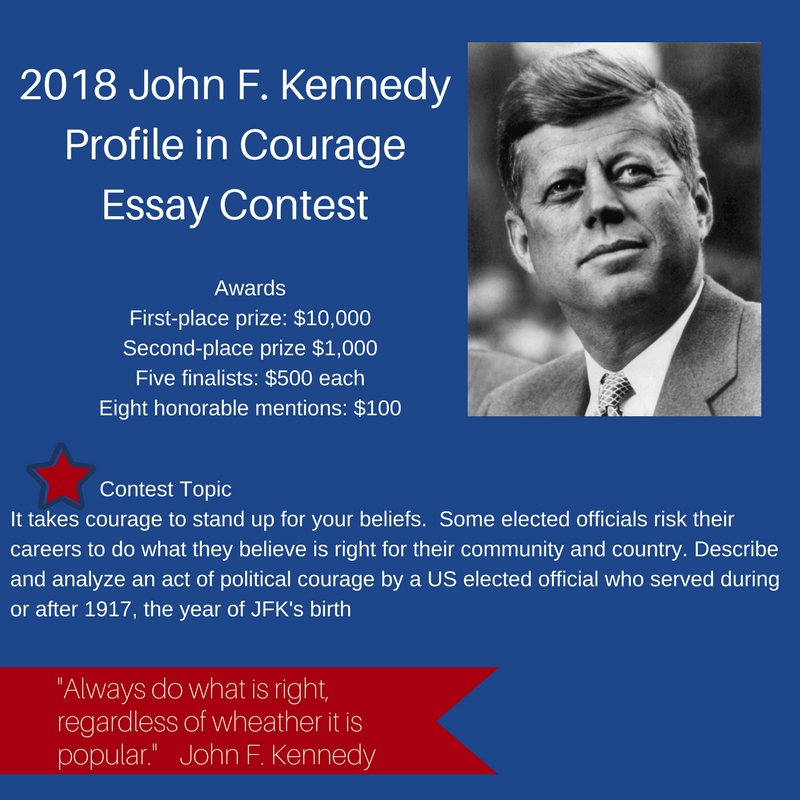 Jfk courage essay