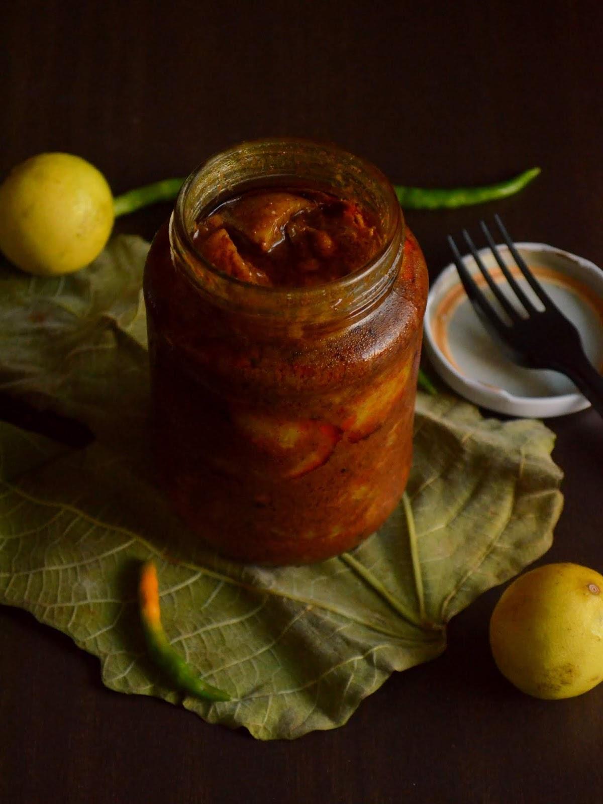 Indulge Lemon Pickle Instant Lemon Pickle Boiled Lemon