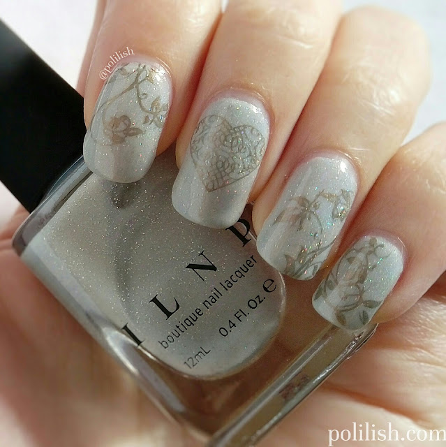 ILNP Paper Route with gold delicate stamping by polilish