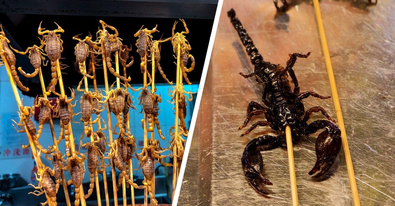 Deep-Fried Scorpion Kebab