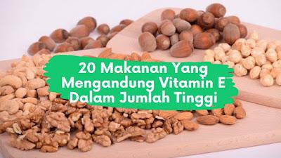 20 Makanan Yang Mengandung Vitamin E Dalam Jumlah Tinggi
