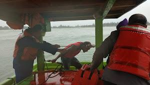 Gelombang Besar Disertai Hujan, KMN. Sri Lestari Tenggelam Di Perairan Utara Batang
