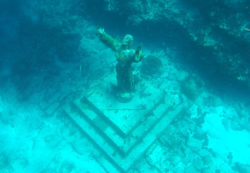 Christ of the Abyss in Florida