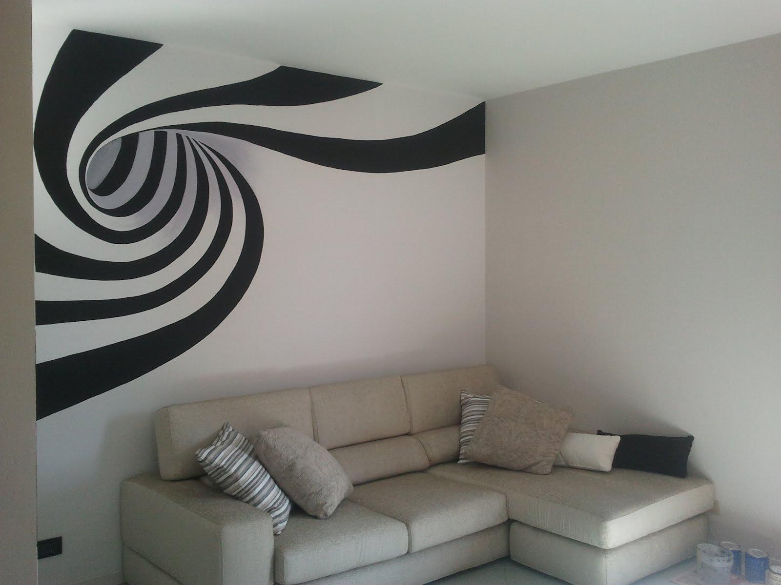 Decorarte murales con spirale for Carta da parati effetto murales