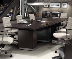Global Total Office Zira Conference Table with Power