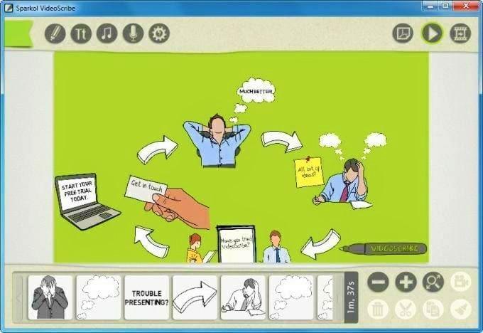 Sparkol VideoScribe Pro Full Version Terbaru