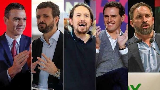 El conflicto catalán y el cansancio de los votantes centran las elecciones generales en España.