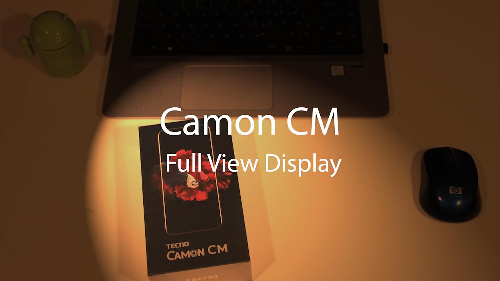 Tecno Camon CM smartphone