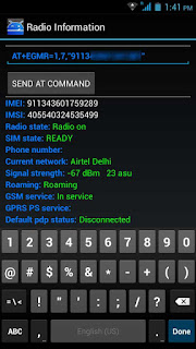 install imei on android