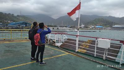perjalanan naik kapal mikrotik marathon bootcamp