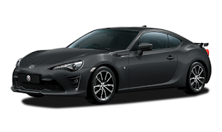 Toyota FT 86 Warna Dark Grey Metallic