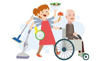 Ilustración sobre cuidados