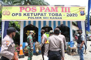Kunjungi Pos Pam,  AKBP Agus Darojat : Yang Ingin Mudik Silahkan Putar Arah