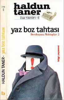 Haldun Taner - Yaz Boz Tahtası