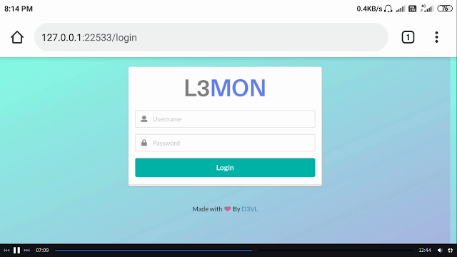Lemon Tool Remote access android with TERMUX Rat payload
