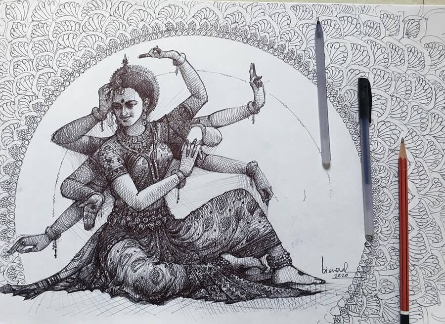 13-Odissi-Goddess-Bijay-Biswaal-www-designstack-co