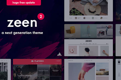 Zeen v2.2.1 – Next Generation Magazine WordPress
