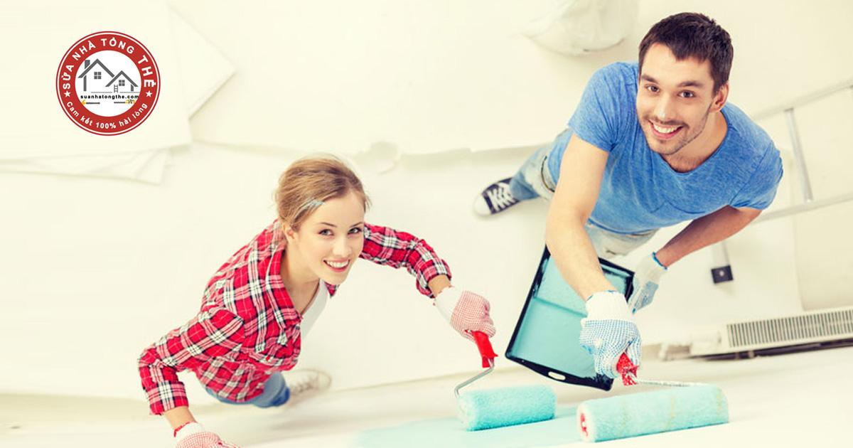 cách pha màu sơn tường nhà Epoxy đúng chuẩn