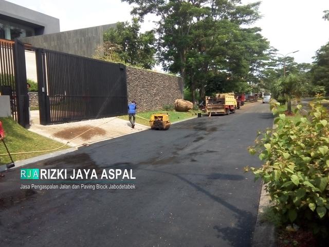 Kontraktor Aspal Hotmix, Jasa Pengaspalan, Jasa Pemasangan Paving Block, jabodetabek