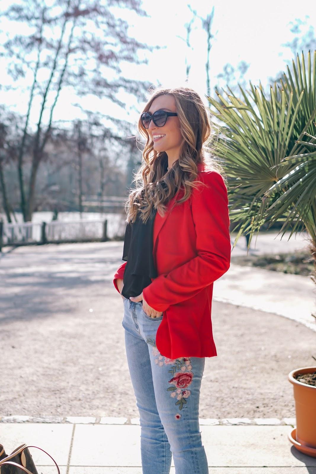 Roter Blazer Fashionstylebyjohanna Fashionblog