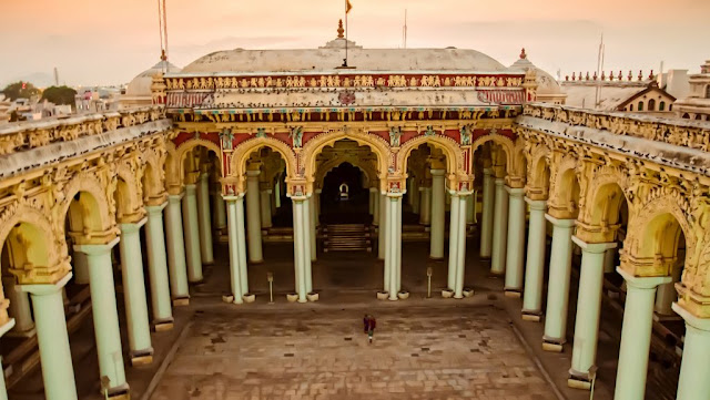 तिरुमलई नायक महल - Tirumalai Nayak Mahal