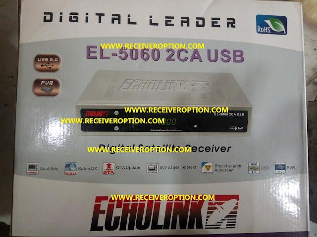 ECHOLINK EL-5060 2CA USB RECEIVER BISS KEY OPTION