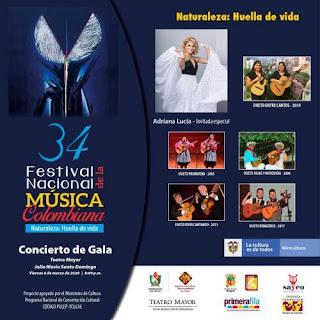 Lanzamiento Festival Nacional de la Música Colombiana 2020