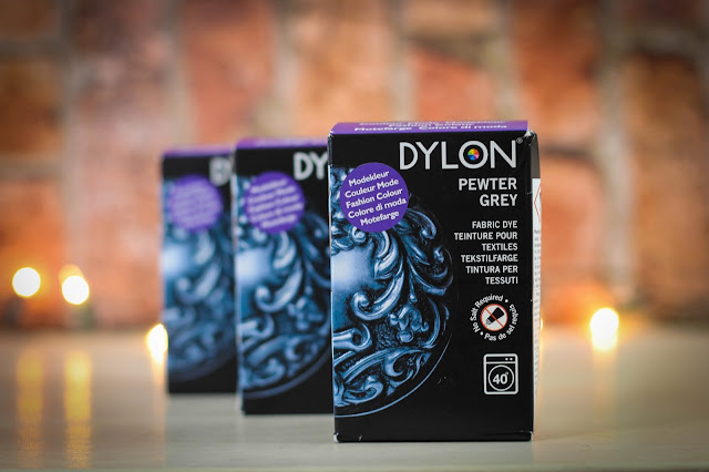 DIY Fabric dying with DYLON