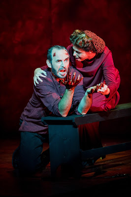 Buxton Festival - Verdi: Macbeth - Stephen Gadd & Kate Ladner (photo Robert Workman)