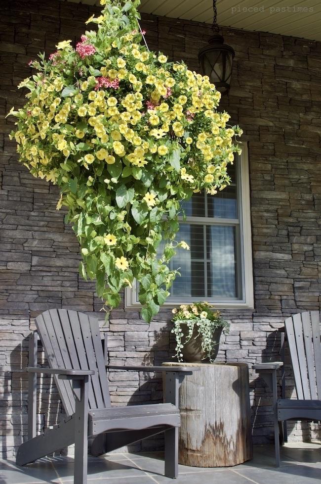 Large Hanging Basket at Pieced Pastimes