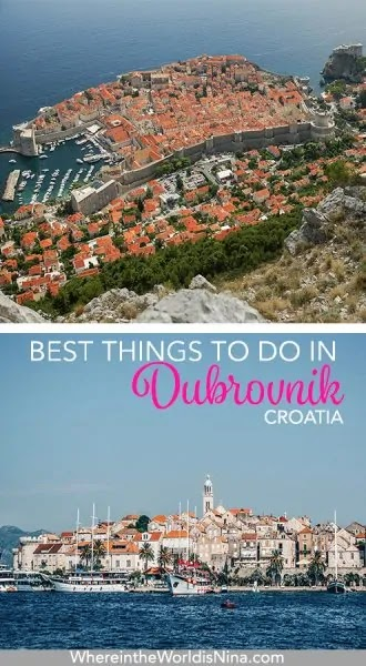 DUBROVNIK TOURS & DAY TRIPS TO MAKE THE MOST OF YOUR VISIT (CROATIA)
