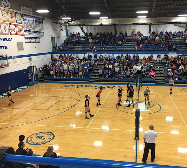 Metamora Volleyball suffers tough 3-set loss to Limestone, Metamora Herald