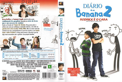 Filme Diário De Um Banana 2 - Rodrick é o Cara DVD Capa