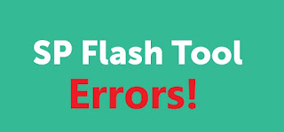 SP flash too errors