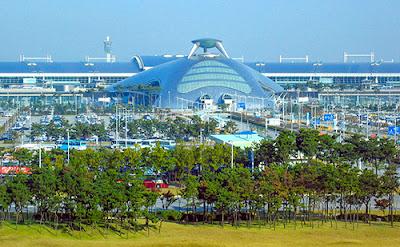 Bandara Incheon Seoul Korea Selatan