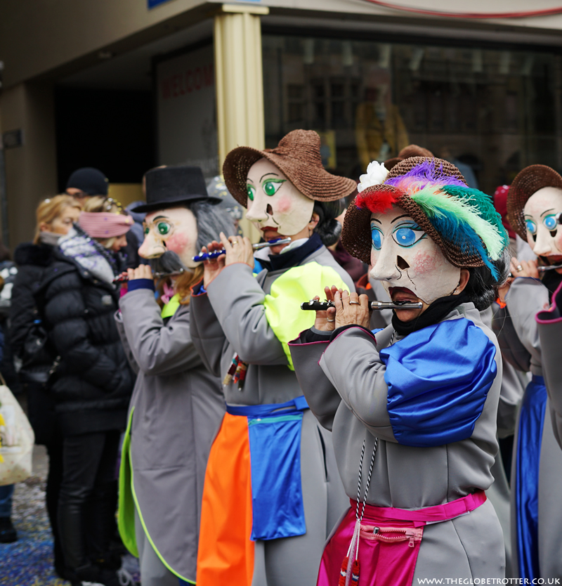 Basel Fasnacht 2018 | Monday Afternoon Cortege