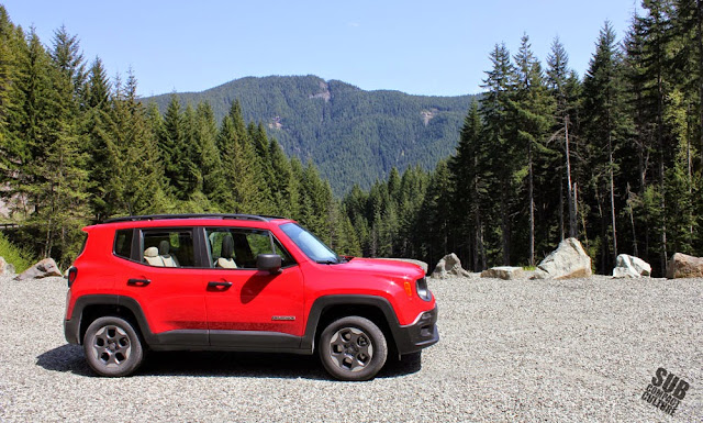 2015 Jeep Renegade Sport near Mt. St. Helens